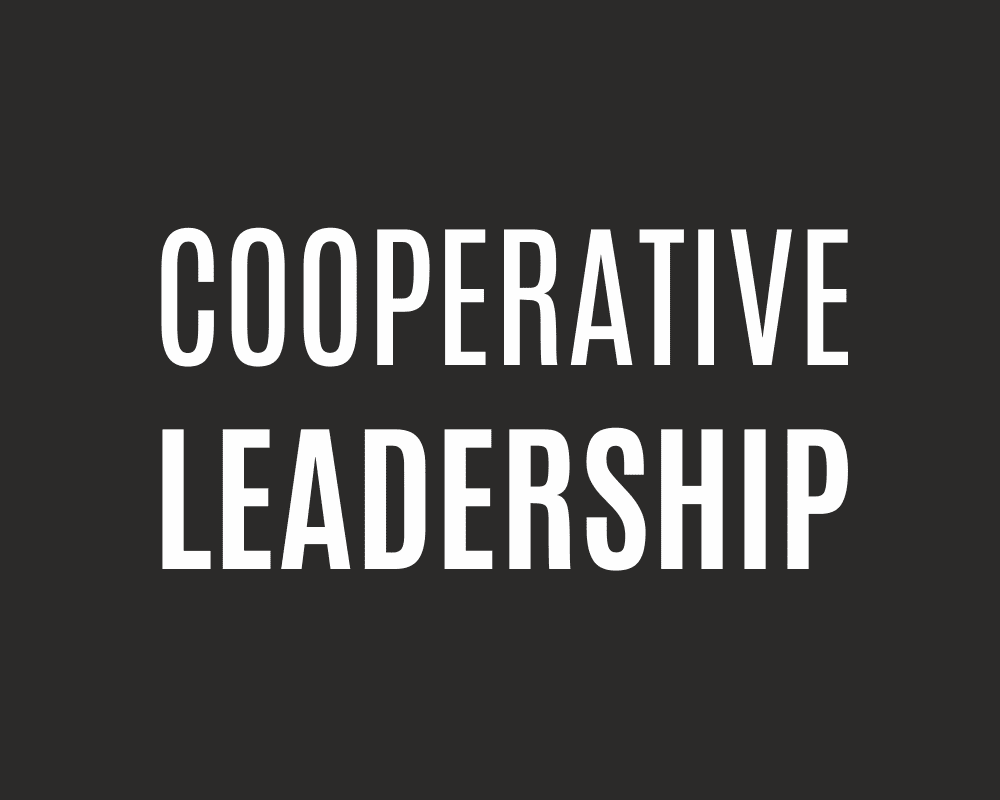Cooperative Leadership